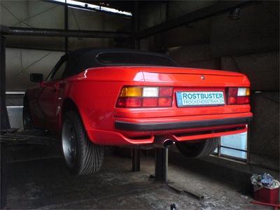 Lancia Flamina Superleggera, Carosseria Touring Milano Porsche 944 Cabrio